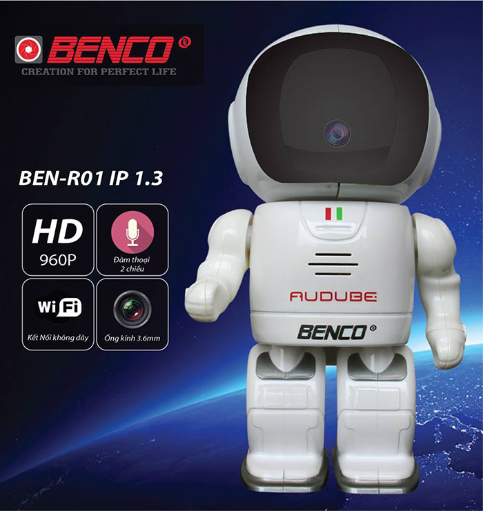 Camera Robot Benco IP 1.3 R01