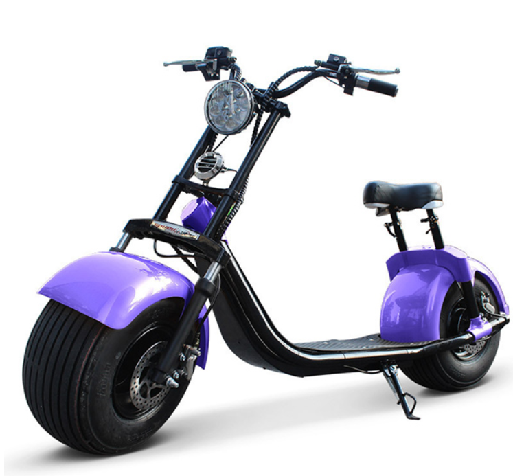 Xe Điện Scooter Bánh To Harley (New)