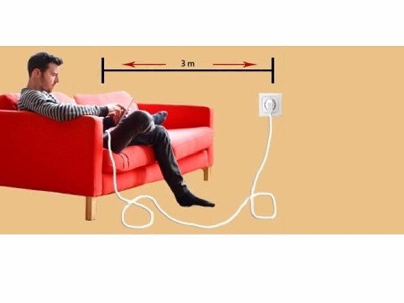 Cáp sạc iphone samsung 3m chính hãng cao cấp