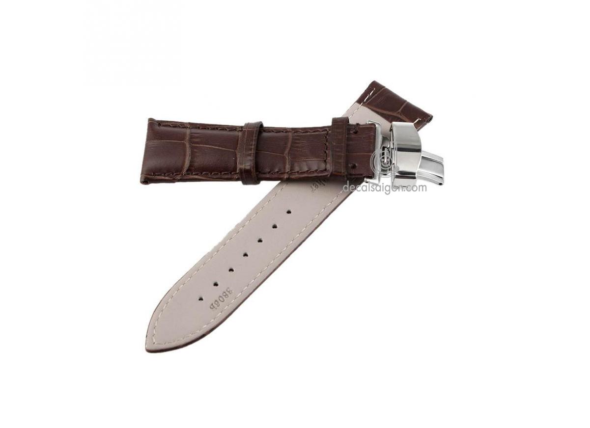 Dây da đồng hồ đeo tay giá rẻ chất lượng cao