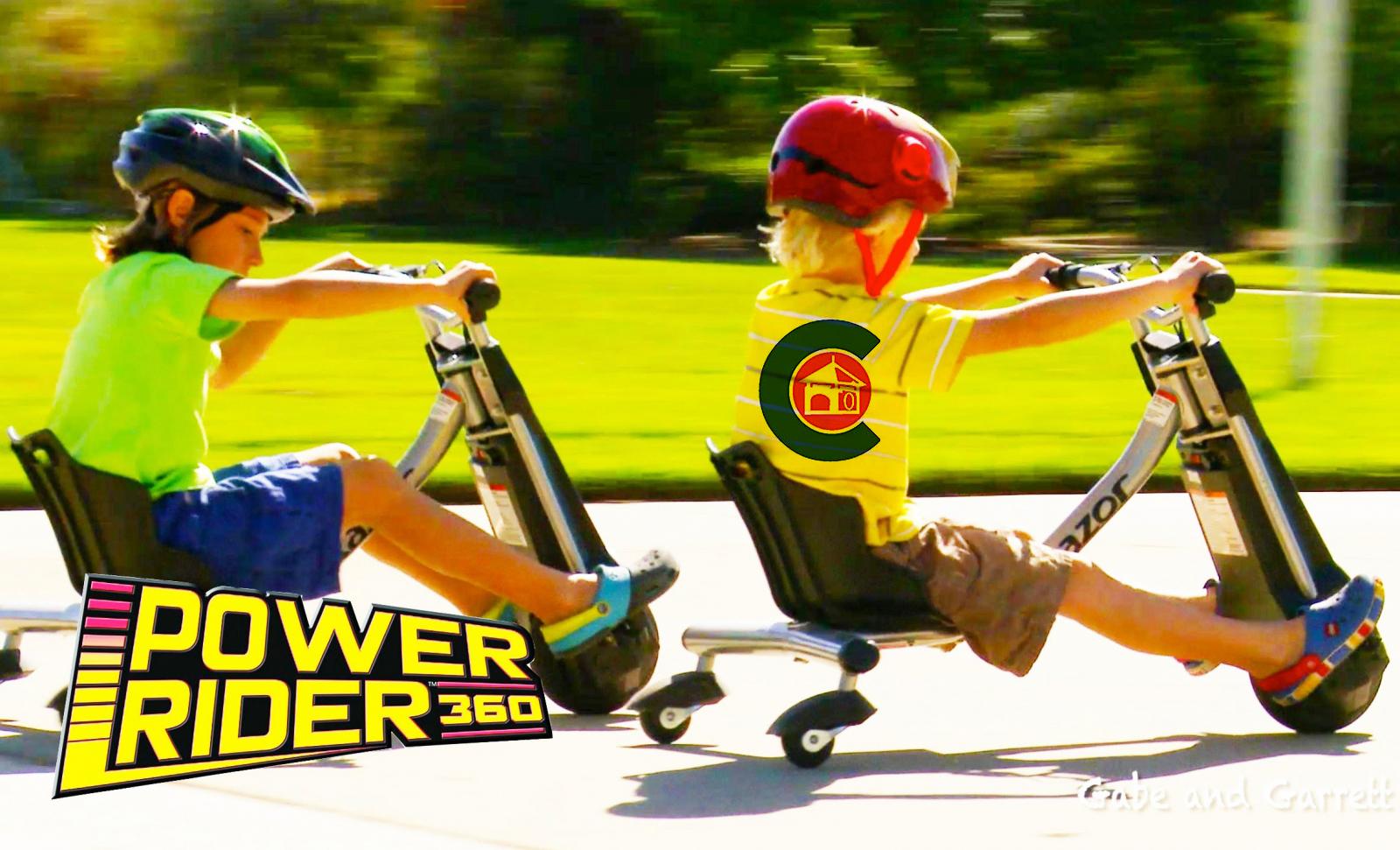 Xe đạp điện 3 bánh Power Raider 360 Siêu hot dành cho trẻ em!!!!!!! - 146953