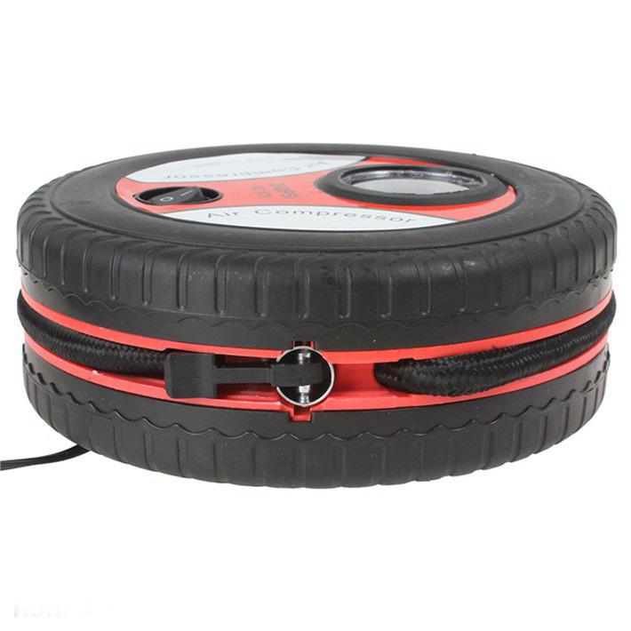 Máy bơm lốp xe hơi có cổng 12V mồi thuốc