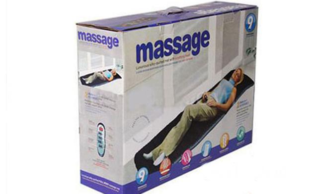 Nệm massage toàn thân Reversibile