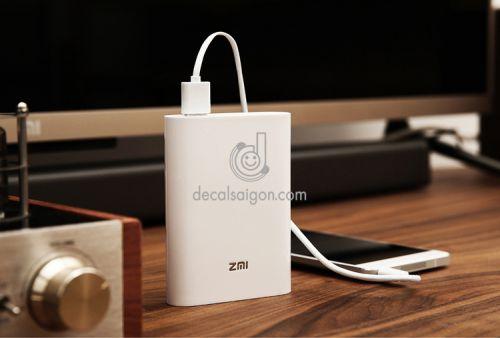 Pin sạc dự phòng phát wifi ZMI 7800 mAh cao cấp