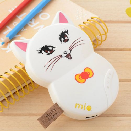 Pin sạc dự phòng mèo may mắn Mio 12000 mAh giá rẻ dễ thương