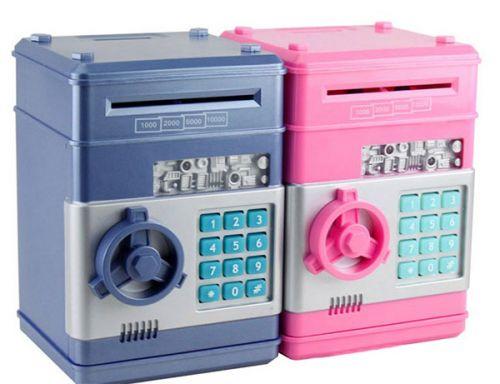 Két sắt mini thông minh cho bé tiết kiệm tiền an toàn giá rẻ hcm
