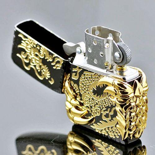 Bật lửa Zippo Star móng rồng vàng sang trọng cao cấp hcm