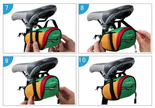 Túi gắn yên xe đạp thể thao thời trang giá rẻ hcm