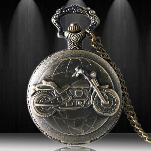 Đồng hồ quả quýt moto bằng đồng giá rẻ đẹp
