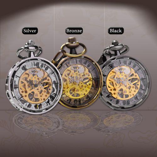 Đồng hồ quả quýt kim loại máy cơ đẹp giá rẻ