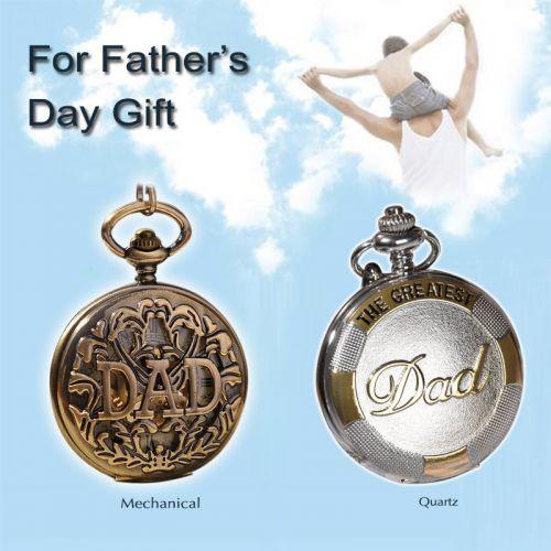Quà tặng đồng hồ quả quýt The Greatest Dad cao cấp sang trọng hcm
