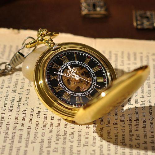 Đồng hồ quả quýt mạ vàng cổ điển sang trọng cao cấp