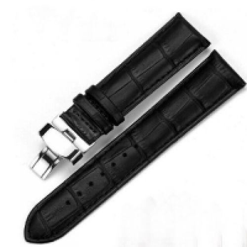 Dây da đồng hồ khóa kim loại đẹp sang trọng cao cấp