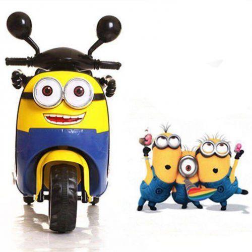 Xe điện Vespa Minion cho trẻ em an toàn giá rẻ
