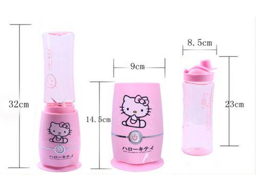Máy xay sinh tố mini Hello Kitty dễ thương tiện dụng giá rẻ
