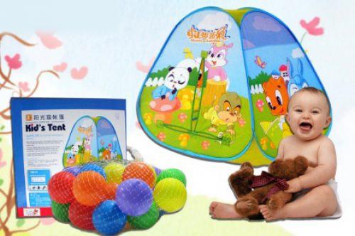 Nhà banh mini trẻ em màu sắc đẹp giá rẻ