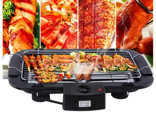 Bếp nướng điện Electric Barbecue Grill 2000W an toàn chất lượng giá rẻ hcm