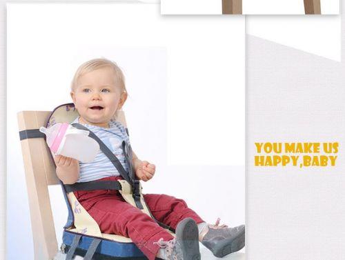 Ghế đệm có đai an toàn cho bé cao cấp chất lượng tốt