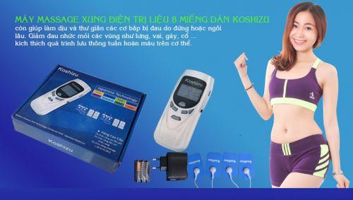 Máy massage xung điện dán cơ thể giá rẻ hcm