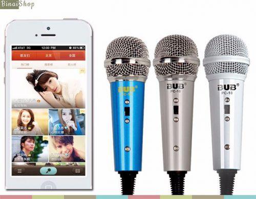 Micro hát online trên điện thoại Bub PC 10