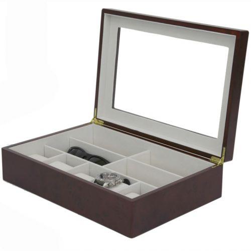 Hộp đựng đồng hồ mắt kính cao cấp