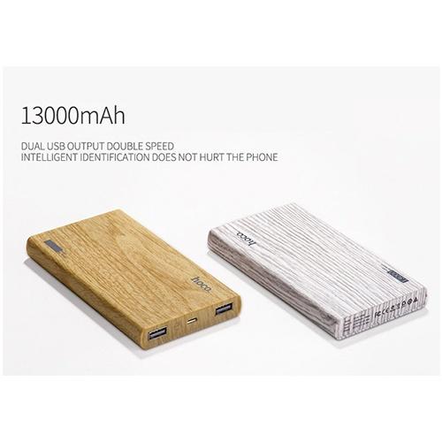 Pin dự phòng Vân Gỗ Hoco B12B Carbon 13000mAh Chợ bán sản phẩm xe điện đẹp tốt cao cấp uy tín giá rẻ