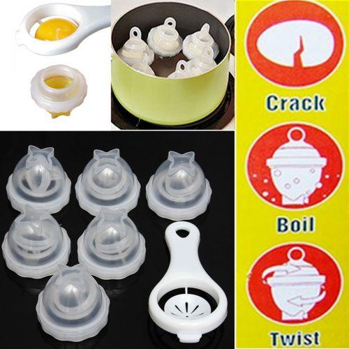 Bộ luộc trứng và tách lòng trắng trứng hcm