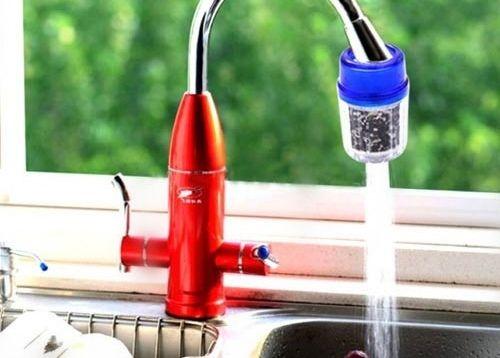 Dụng cụ đầu lọc nước sạch mini tiện ích giá rẻ