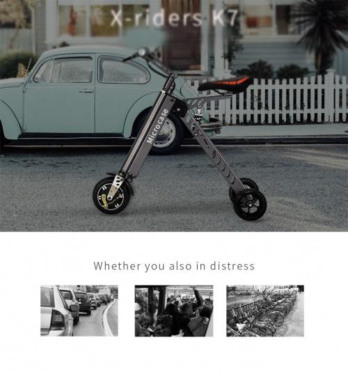 Xe điện gấp mini X-Rider K7 giá rẻ chất lượng hcm