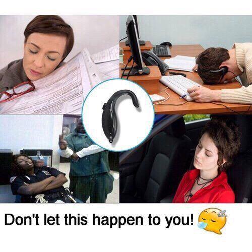 Dụng cụ thông minh cảnh báo chống ngủ gật giá rẻ tiện dụng