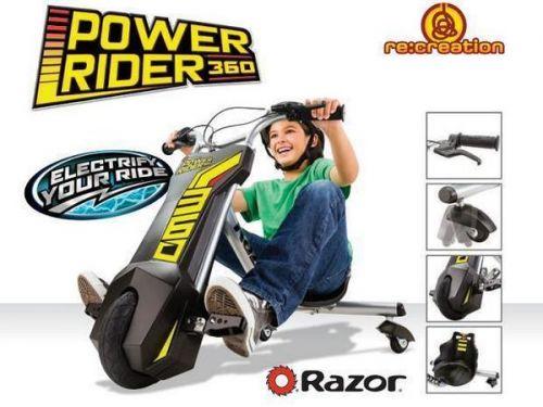 Xe đạp điện 3 bánh Power Raider 360 cho bé giá rẻ độc đáo