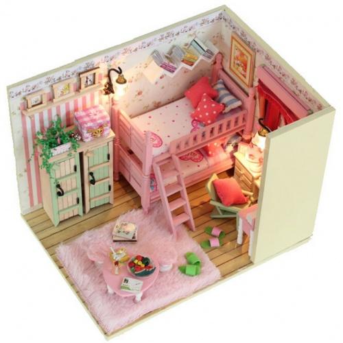 Bộ đồ chơi lắp ghép nhà gỗ giá rẻ an toàn cho bé