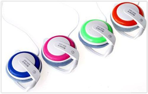 Tai nghe Sony móc tai thời trang chất lượng giá rẻ hcm