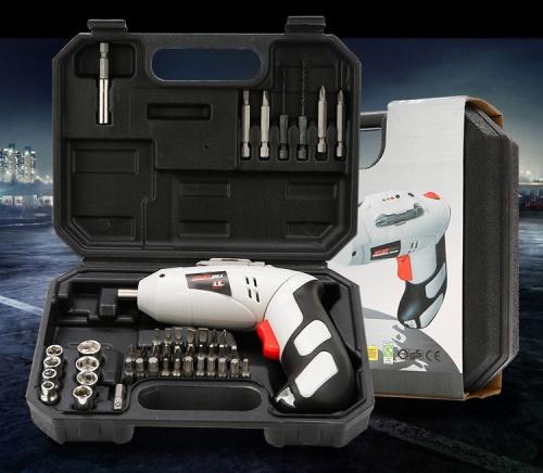 Bộ máy khoan cầm tay sạc điện 46 món đa năng chất lượng cao