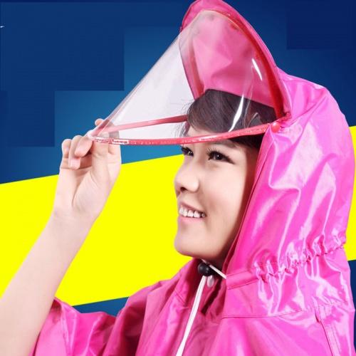 Áo mưa có kính che mặt giá rẻ tiện dụng