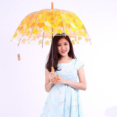 Dù đi mưa 3D thời trang tiện dụng