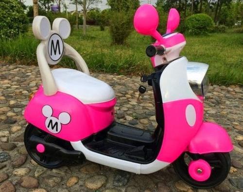 Xe điện Vespa tai chuột Mickey đẹp an toàn chất lượng