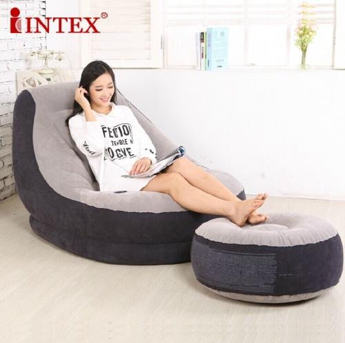 Ghế hơi tựa lưng Intex thoải mái chất lượng