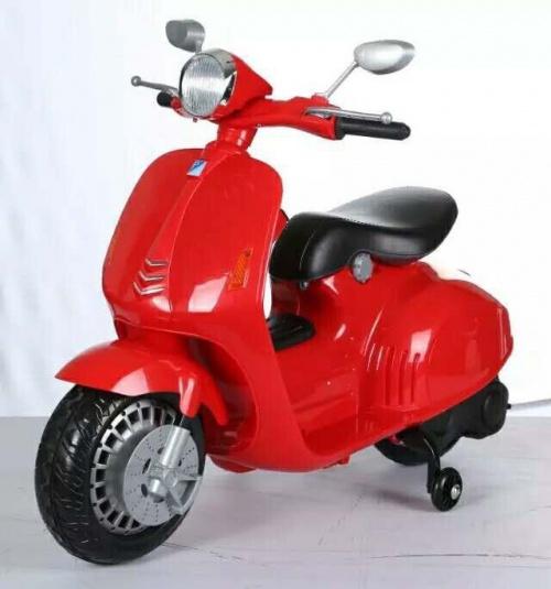 Xe điện Vespa cho bé an toàn cao cấp