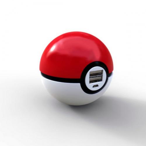 Pin sạc dự phòng hình quả cầu Pokemon độc đáo tiện dụng