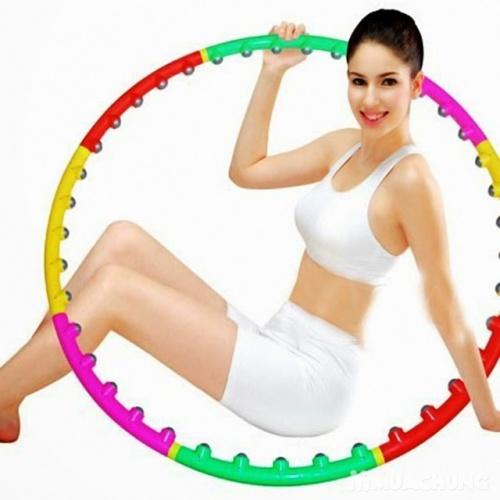 Vòng lắc giảm eo massage chất lượng loại tốt giảm mỡ bụng