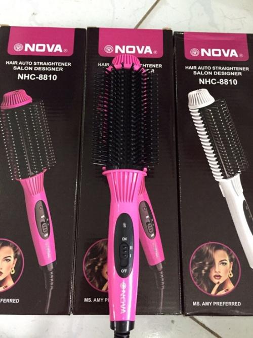 Lược điện uốn tóc đa năng Nova NHC-8810 Chợ bán sản phẩm xe điện đẹp tốt cao cấp uy tín giá rẻ
