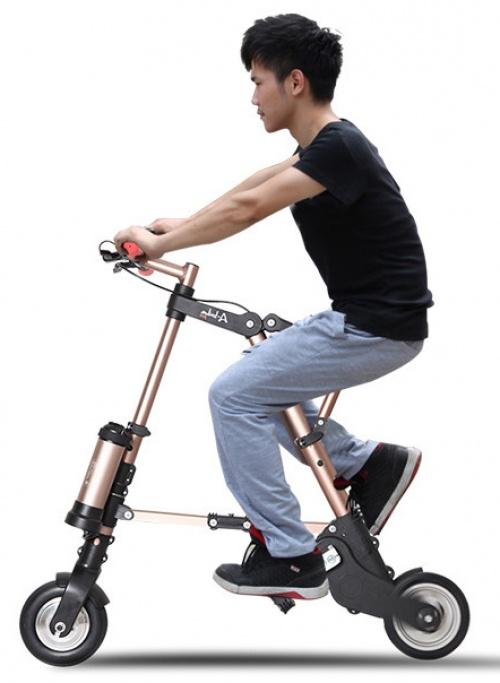 Xe đạp gấp điện A-BIKE PRO Wyatt thế hệ mới Chợ bán sản phẩm xe điện đẹp tốt cao cấp uy tín giá rẻ