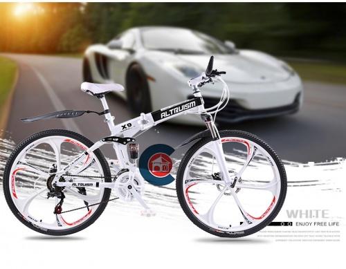 Xe đạp gấp leo núi Altruism X9 Chợ bán sản phẩm xe điện đẹp tốt cao cấp uy tín giá rẻ