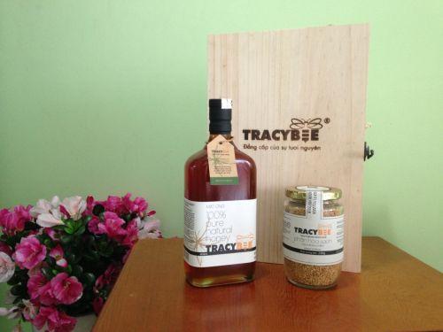Mật ong tự nhiên nguyên chất hiệu Tracybee chính hãng 100% cao cấp