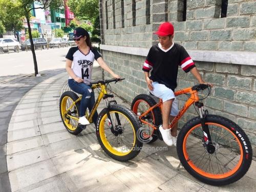 Xe đạp lốp cực rộng Beinaiqi giảm xốc cho sinh viên Chợ bán sản phẩm xe điện đẹp tốt cao cấp uy tín giá rẻ