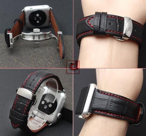 Dây da đeo apple watch kiểu bướm khóa Chợ bán sản phẩm xe điện đẹp tốt cao cấp uy tín giá rẻ