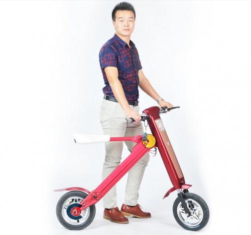 Xe điện gấp K scooter thời trang