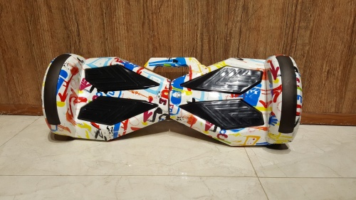 Xe Điện Tự Cân Bằng Size Bánh 8 Inch Gọn Nhẹ Và An Toàn Màu Trắng Vân Chợ bán sản phẩm xe điện đẹp tốt cao cấp uy tín giá rẻ