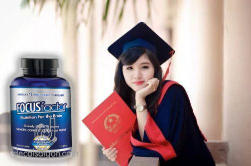 Thuốc bổ tăng cường trí nhớ Focus Factor hàng Mỹ chất lượng cao cấp